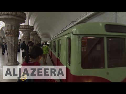 North Korea: How is it to commute in Pyongyang's old metro trains?