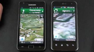 Samsung Galaxy S II vs LG Optimus 2X Dual Core Face Off