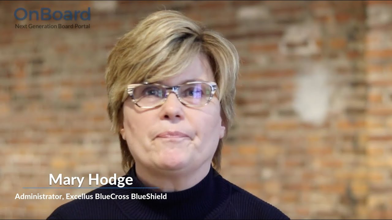 A conversation with Mary Hodge, Excellus BlueCross BlueShield