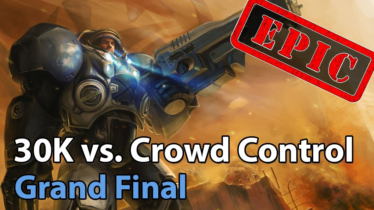 ► EPIC Grand Final: Crowd Control vs. 30K Org - Icebreaker Cup - Heroes of the Storm Esports