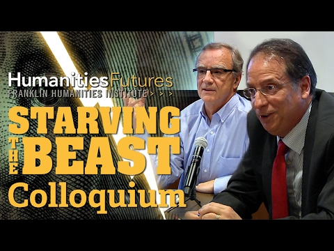 """Starving the Beast"" University Finances and Public Education Colloquium"