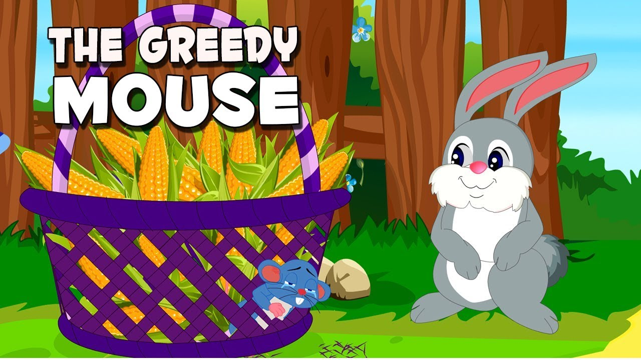 Moral Stories In English | The Greedy Mouse | English Animated Short Stories | Moral Stories