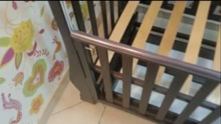 Кроватка детская ЛЕЛЕКА МАРТУСЯ венге
