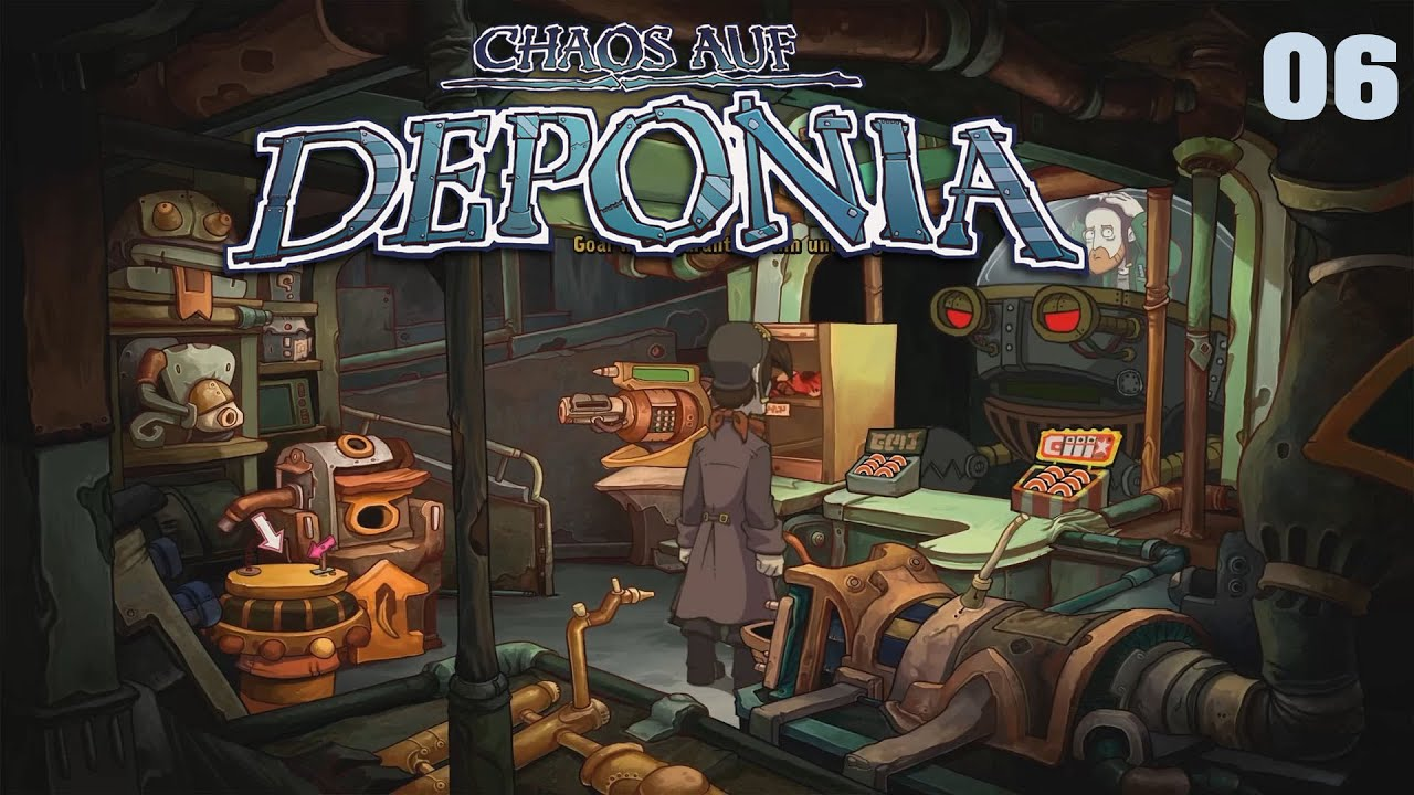 Chaos auf Deponia [HD] 06 - Gilligans Gadget Hölle - Let's Play Chaos auf Deponia