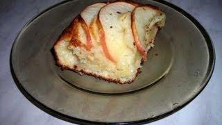 Запеканка творожная с яблоками, творожный пирог