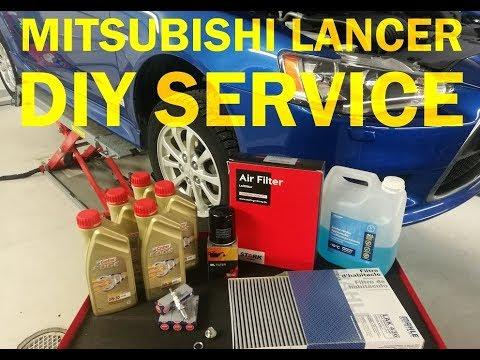Mitsubishi Lancer – DIY Service / Maintenance