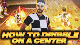 """DRIBBLE LIKE A GUARD ON YOUR 7'3"""" CENTER • BEST DRIBBLE MOVES + HOW TO DRIBBLE ON A CENTER • NBA2K20"""
