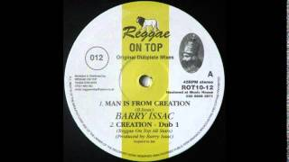 "10"" Barry Issac - Man Is From Creation/Creation Dub 1"