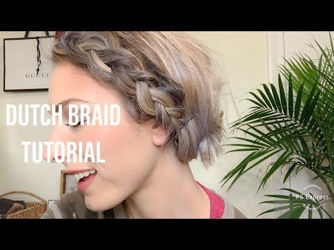 DUTCH BRAID FESTIVAL HAIR | Tutorial