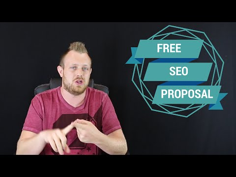 SEO Proposal Template Sample For Clients (Converts 50-80%)