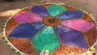 Rangoli Made For Diwali