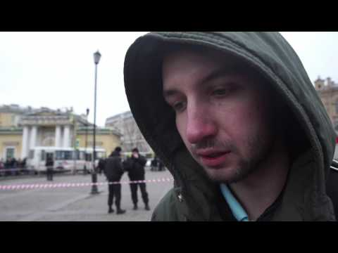 St. Petersburg attack: witness retells ordeal