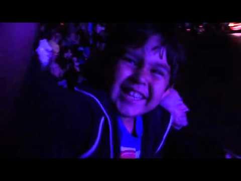 Alex @ Disneyland pain the night parade