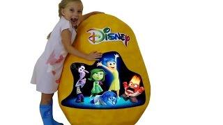 Большое  Яйцо Inside Out Головоломка Огромное Яйцо  Дисней  Клуб микки мауса  Храбрая сердцем Николь