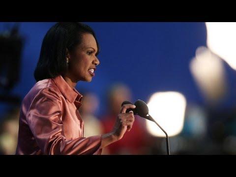 Raw Video: Condoleezza Rice