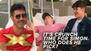 It's CRUNCH time for Simon Cowell, who does he pick? | X Factor: Celebrity