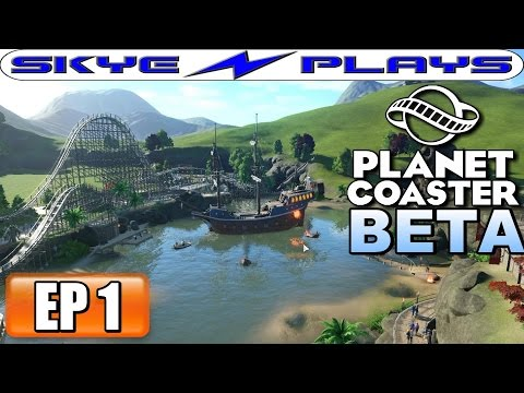 Planet Coaster BETA Part 1 ► CAREER MODE! ◀ Let's Play / Gameplay