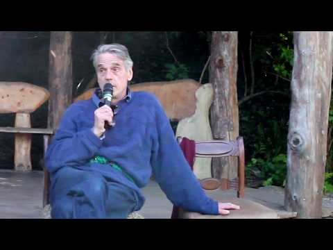 Jeremy Irons talks on waste in Ireland