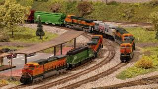 N-scale Various Railroads