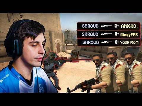 CS:GO - WHEN PRO PLAYERS HIT THE COLLATERAL SHOTS (Ft. Shroud, Stewie2k, and MORE !!)