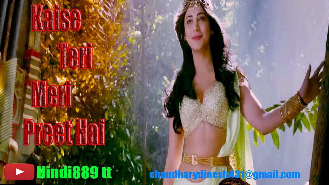 Download Kaise Teri Meri Preet Hai Full song Puli Movie song Hindi889 tt Vijay, Sridev, Shruti Haasan