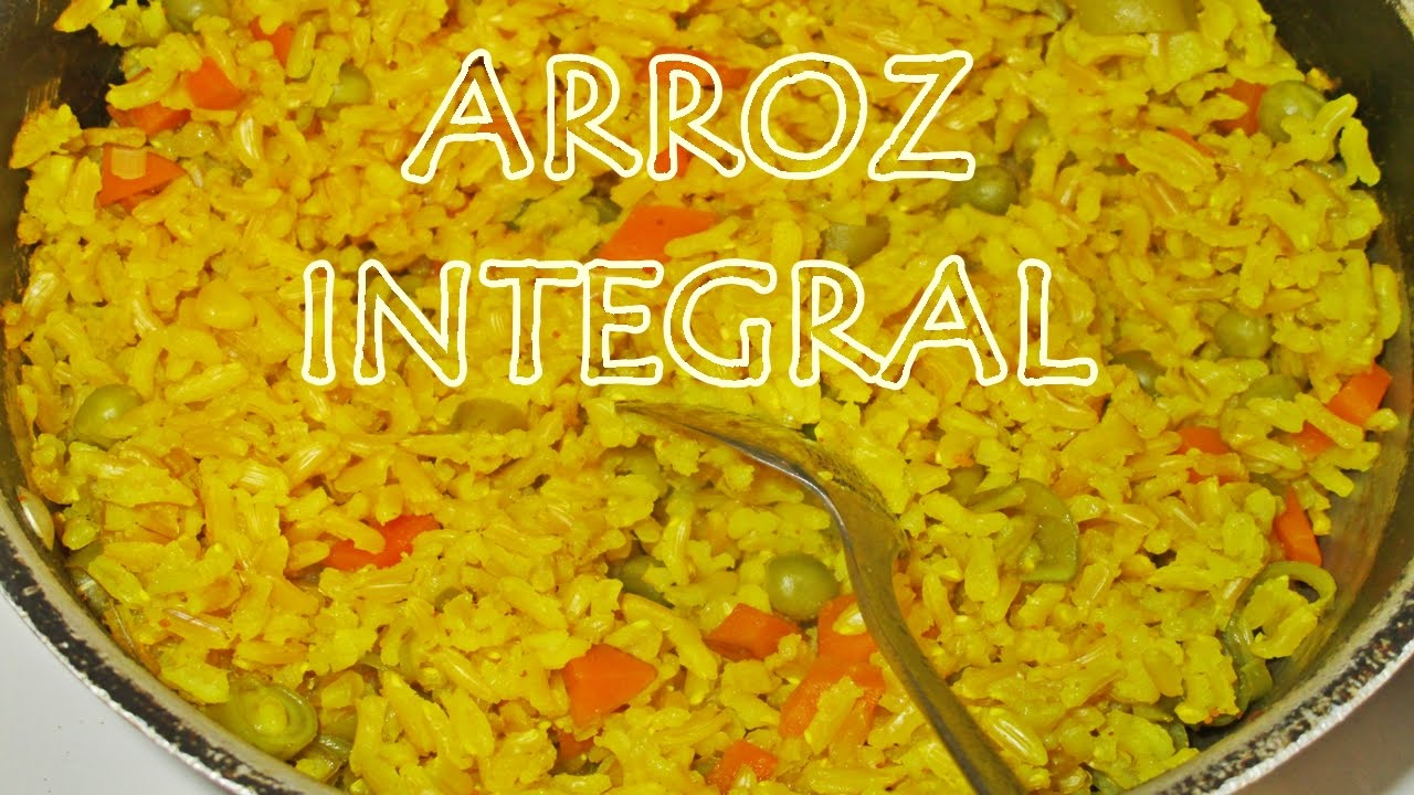 COMO PREPARAR ARROZ INTEGRAL! - YouTube