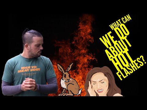 What Can We Do About Hot Flashes?   #AskMikeTheCaveman Part 140