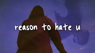 rhys lewis - reason to hate you lyrics