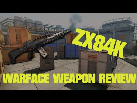 WARFACE WEAPON REVIEW : ZX84K by ArCnix