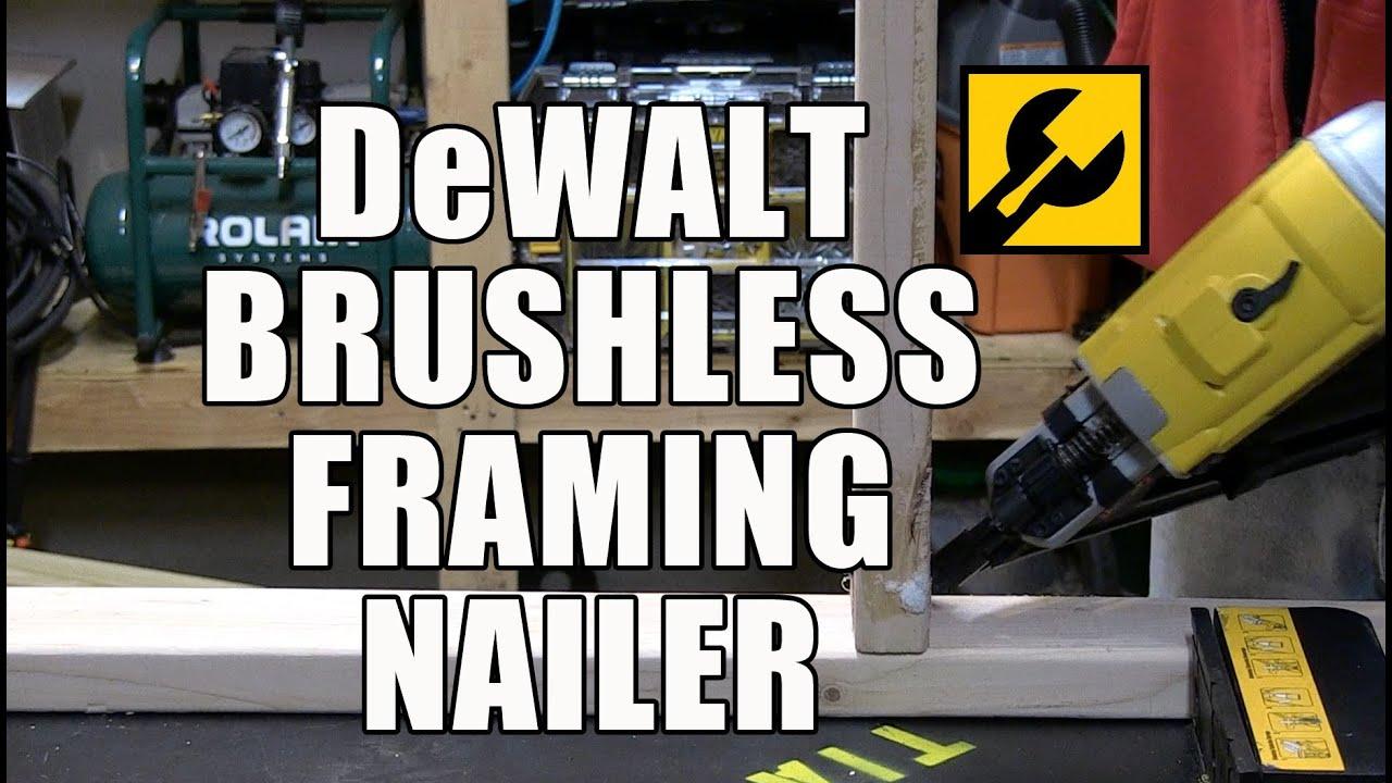 dewalt dcn690 20v brushless framing nailer