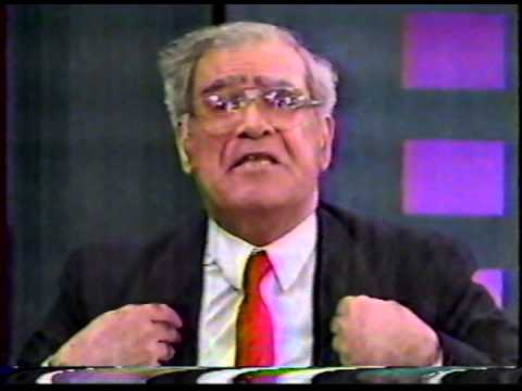 Rabbi Meir Kahane on the Morton Downey Jr. show