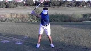 elite golf performance mike after training with Matt Christian former U of Arkansas golfer