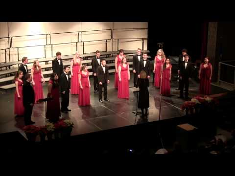St Paul Central HS Chamber Singers  Jingle Bells  Dec 2013