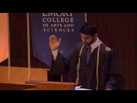 2017 Baccalaureate Student Reflection - Naveed Noordin