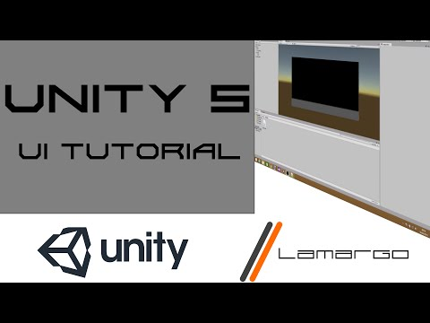 Unity 5 UI Tutorial - How to Input & Output text like a Text