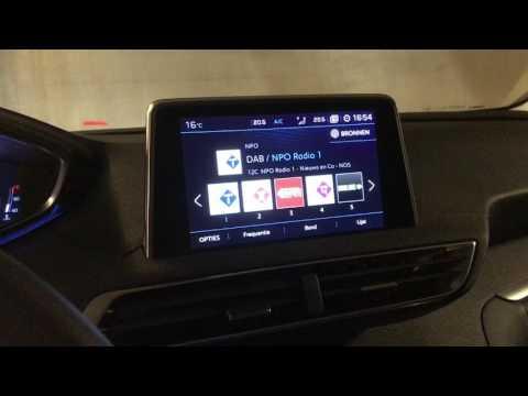 360 Degrees Back Up Camera 2017 Peugeot 5008 Suv