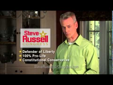 Steve Russell, Candidate for Oklahoma's 5th Congressional District, Airs 1st TV Commercial