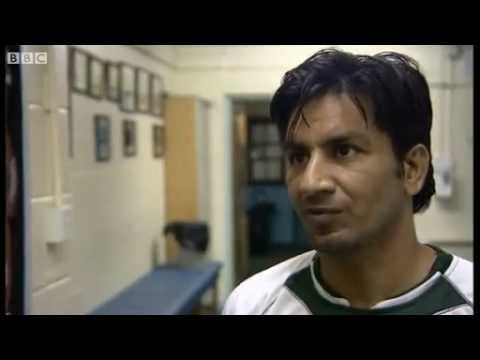 Waseem Ahmad, Pakistan Hockey player at BBC News in Staffordshire for London Games