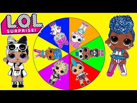 Jelly Layer LOL Surprise Dolls Real or Fake - Spin the Wheel Toy Game Show |