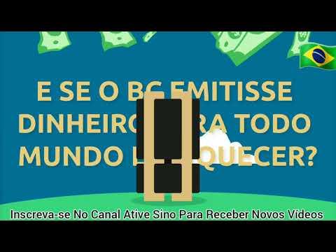 ENTENDA Porque BANCO CENTRAL Não Imprime DINHEIRO? PRA TUDO MUNDO FICAR RICO              olho certo