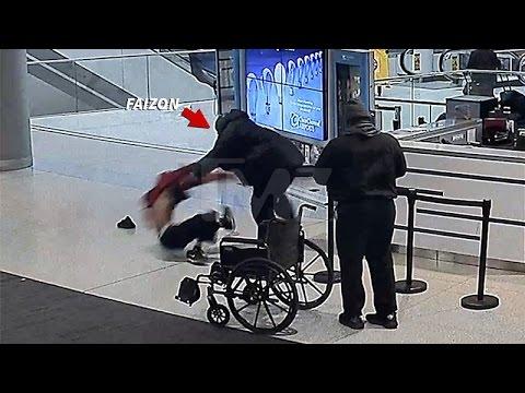 FAIZON LOVE Airport Fight Footage ...video