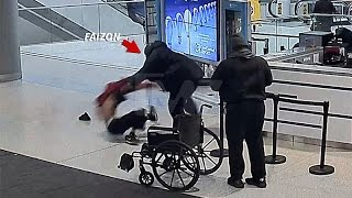 FAIZON LOVE Airport Fight Footage ...(video)