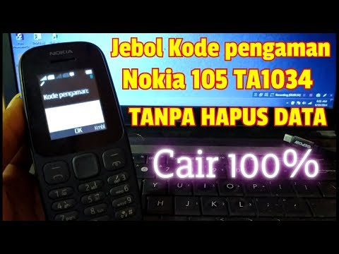 Buka Kode Pengaman Nokia 105 TA1034 Tanpa Hapus Data