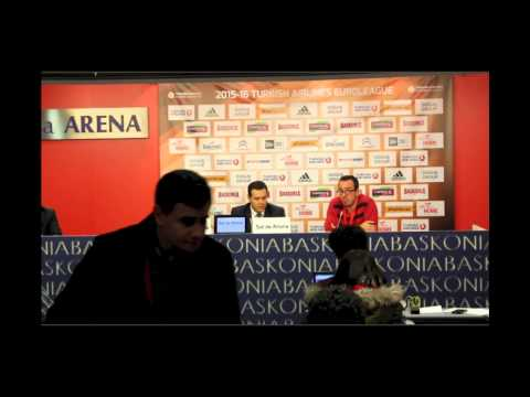 Post partido Euroleague CSKA Moscow