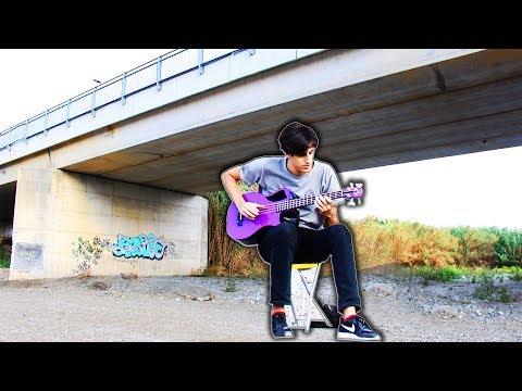 """""""Under The Bridge"""" played under a bridge"""