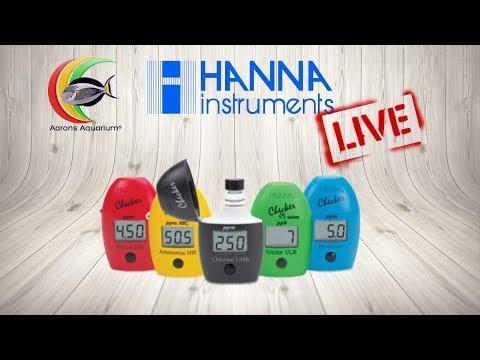 Hanna Instruments Q&A And Checker Demo