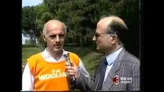 Arrigo Sacchi a Milanello prima di Milan-Steaua (1989)