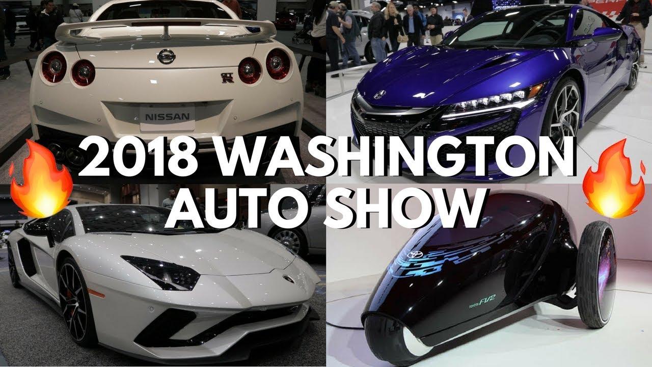 WASHINGTON AUTO SHOW CRAZY EXOTIC CARS YouTube - Washington car show discount tickets