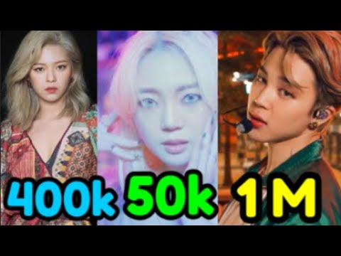 Top 35 Most Disliked Kpop Music Videos Of 2020 Youtube