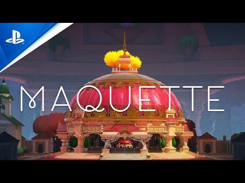 Maquette - Cast Announce Trailer | PS5, PS4